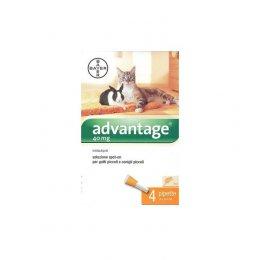 Advantage 4 pipette gatti e piccoli animali sotto 4 kg