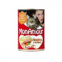 Monamour Cat Pate' - 400 GR Anatra/Verdure
