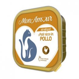 MONAMOUR Patè CAT POLLO STERILISED 100 GR.