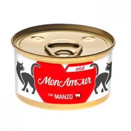 MONAMOUR CAT GOLD MOUSSE MANZO 85GR New