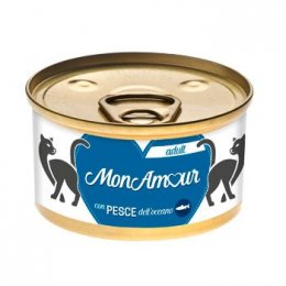 MONAMOUR CAT GOLD MOUSSE PESCE OCEANO 85GR New