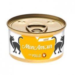 Monamour Cat Gold Mousse Pollo 85GR New
