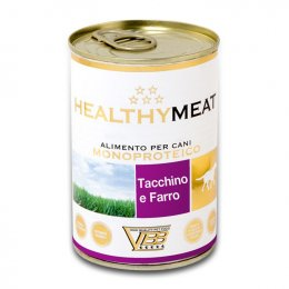 Healthy Meat dog monoproteico Tacchino e Farro 400 g.