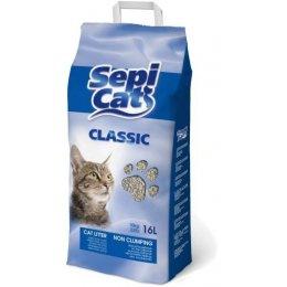 SepiCat Classic Sabbia Assorbente per Gatti 16 lt